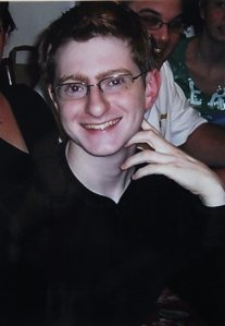 An undated photo of Tyler Clementi at a family function (Clement family via AP)