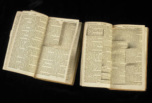 The Bible after Thomas Jefferson's redactions