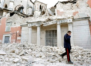 L'Aquila, Italy after a 6.3 earthquake hit in 2010  (REUTERS/Alessandro Bianchi)