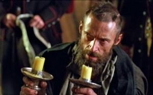 The bishop extends grace to Valjean