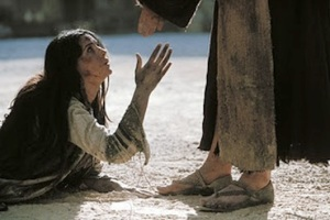 A woman condemned for adultery is forgiven by Jesus.